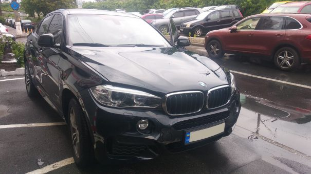 BMW X6 M5 2017 4